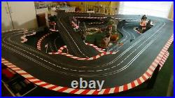 1/24 Track 1/32 Cars amazing layout, Kelly built it, I want my sewing room back