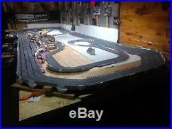 1/32 SCX Huge digital slot car track, 26'x8' withextras