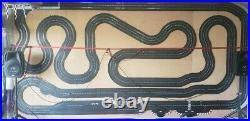 1/32 slot car track set, 16x8 rtr cctk pit fuel pods wi fi control