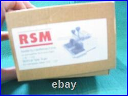 1/32 slot racing RSM SLOT CAR TYRE TRUER FOR 1/32 OR 1/24 EXCELLENT BOXED