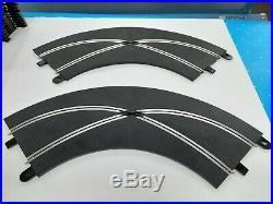 132 Hornby Scalextric 27 Tracks 2-Controllers Power Supply Borders Guardrail L4