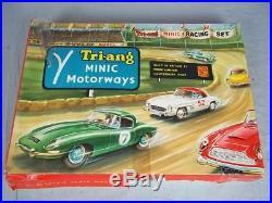 1960's Tri-ang Minic Motorway Economy Racing Set 1525