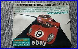 1960s Triang Minic Criss-Cross race set complete M/1507 Vintage in original box