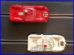 1966 Vintage Strombecker Slot Car HUGE Race Track Collection withManual & Instruct