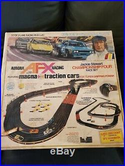 1975 Afx Slot Car Track