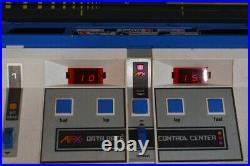 1979 Aurora AFX DATA RACE COMPUTER CENTER Slot Car Track HO Scale NEAR COMPLETE