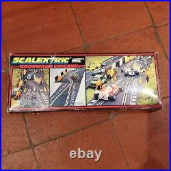 1980s Vintage Scalextric Goodwood Chicane C177 BOXED / SUPERB