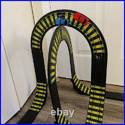 1989 TYCO 6229 Sky Climber Cliff Hangers Slot Car Race Track Complete & Works