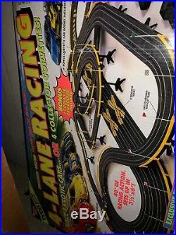 1994 TYCO 4-LANE RACING SET Never Used NIB Corvettes 440-x2 Slot Car Cars