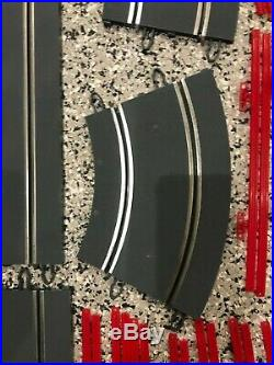 40pc LOT of SCX Straight & Curve & Guardrails 1/32 Slot Car Track Layout NEW