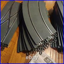 41pc LOT SCX Digital WOS Straight & Curve & Lane Change Slot Car Track 12 foot