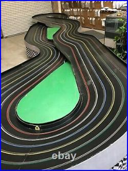 6 Lane 1/24 Commercial Slot Car Track