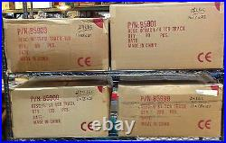 80pc Factory CASE TYCO TCR Slot less Car Race TRACK 15 TERMINAL STRAIGHT B5903