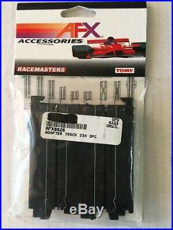 AFX 8626 Pair 3 AFX Adaptor Track, Old Vintage AFX to New AFX Tomy Slot Car-NEW