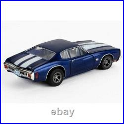 AFX Big Block Shootout 23-Foot HO Slot Car Track withChevy Chevelle & Ford Mustang