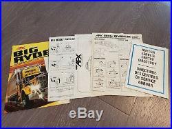 AFX Big Ryder Cross Country Dispatch Race track Set 66x78 AUROGA 1980 box comp