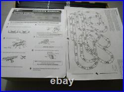 AFX Giant Raceway 62.5' HO Slot Car Track Set withTri-Power Pack=EX CONDITION