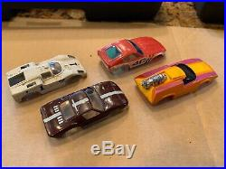 AFX HO slot cars, track and accessories