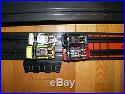 AFX TOMY AURORA HO SLOT CAR SET (4 Cars 44 plus feet of track)