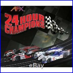 AFX TOMY HO SLOTCAR 24 HOUR CHAMPIONS RACE SET MEGA G PLUS slot car AFX22004
