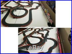 AFX TOMY HUGE 65FT CUSTOM RACE WAY TRACK for Mega G/G+, Super G Plus, Turbo, SRT