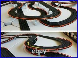 AFX TOMY HUGE 73FT CUSTOM RACE WAY TRACK for Mega G/G+, Super G Plus, Turbo, SRT