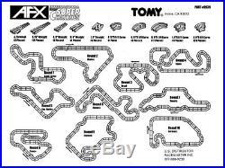 AFX TOMY HUGE 76.6FT 4-LANE RACEWAY TRACK for Mega G/G+ Super G Plus Turbo SRT