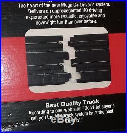 AFX Tomy 63.5' Mega Giant Raceway Track Slot Car Set, 4' x 8' 100% Ready To RUN