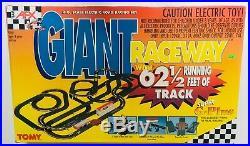 AFX Tomy Super G-Plus Giant Raceway Slot Car Track Set Model 9868