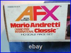 AURORA AFX Mario Andretti 1979 Slot Car Flex Track. NOS. Sealed