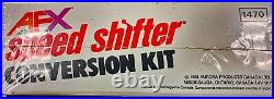 AURORA AFX SPEED SHIFTER SEALED MIB CONVERSION KIT WithCARS CONTROLLERS TRACK