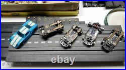 AURORA MODEL MOTORING T-Jet Tyco-S 1960's HO Scale Slot Car Track With Accessories