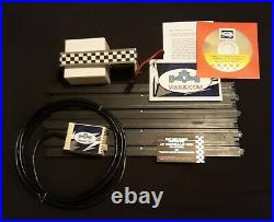 Afx Slot Car Track 15 Or Your Track Type 4lane Usb Lap Counter/timer System