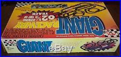 Afx Tomy Super G-plus 62 1/2' Giant Raceway Slot Car Track Set