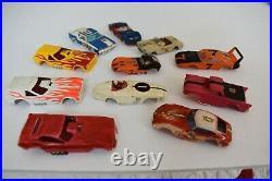Aurora AFX HO slot cars and track