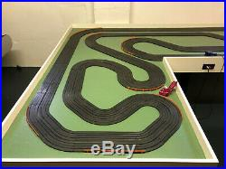 Aurora AFX Racing Track- 72 Feet of 4 Lane Racing