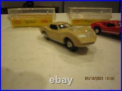 Aurora HO scale slot cars and track