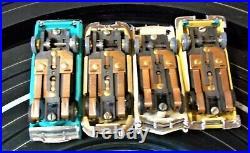 Aurora Model Motoring Nice Ho #1317 Tjet 4 Lane Slot Car Race Track Set 4 Cars