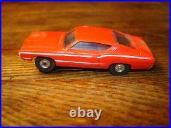 Aurora Red Ford Torino Ho Slot Car For Afx Atlas Marx Lionel Track