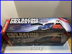 Auto World Ho Slot Drag Racing Track with box! Not Afx Tjet Tomy Tyco