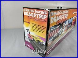 Auto World Match Racing Dragstrip with Tom Daniel School Bus and VW Bus Brat Boy