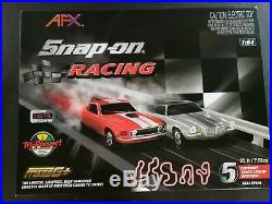 Brand New! Never Opened! SNAP-ON Racing AFX Mega G+ set Mustang & Camaro