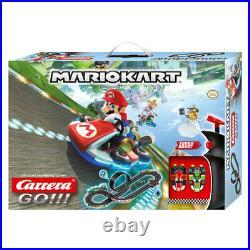 Carrera 4.9m Go Nintendo Mario Kart 8 Slot Car Racing Tracks withLoop Kids Toy 6y+