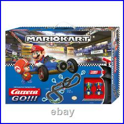 Carrera 5.3m Go Nintendo Mach 8 Mario Kart 8 Slot Car Racing Tracks Kids Toy 6y+