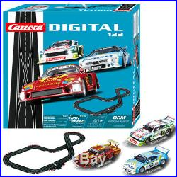 Carrera DIGITAL 1/32 30002 DRM Retro Race 3x Slot Car 26.25 ft Track Set