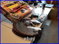 Carrera GO! 62076 NASCAR Slot Car Race track with tons of extra track and part