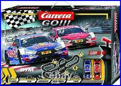 Carrera GO! 62480 DTM Master Class Electric 1/43 Slot Cars Track Set 2 cars