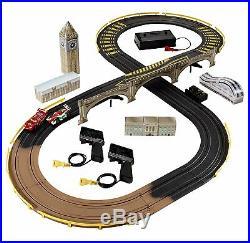 Cars 2 R/c London City Raceway Slot Car Racing Track Set Disney Toy Collectible
