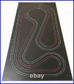 Custom HO Routed Slot Car Test Track B 2 Lane Viper V1 AFX Tomy Tyco BSRT TJet
