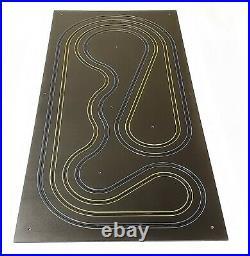 Custom HO Routed Slot Car Test Track C 2 Lane Viper V1 AFX Tomy Tyco BSRT TJet